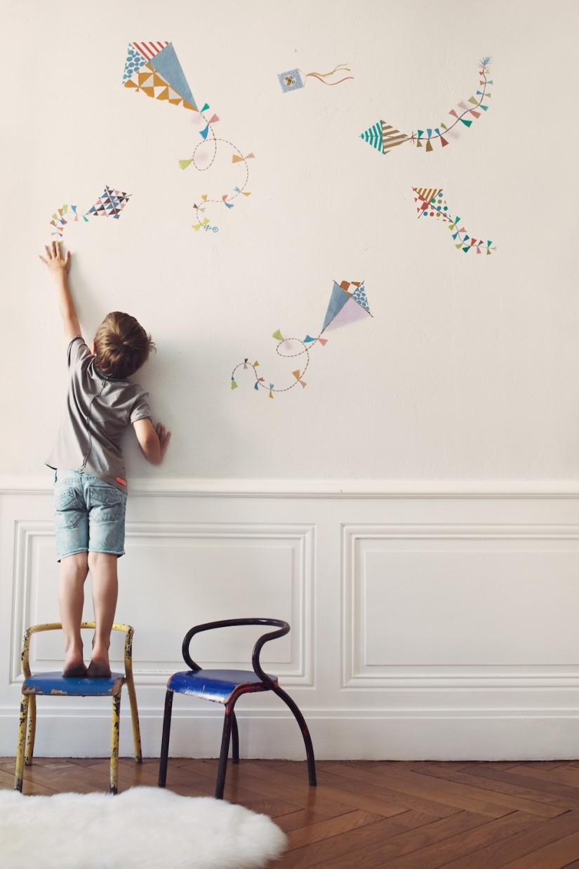 Poisson Bulle - Décoration pour les chambres d'enfants